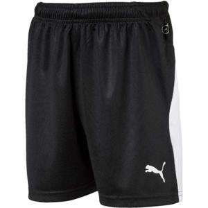 Puma LIGA SHORTS JR čierna 140 - Chlapčenské športové šortky