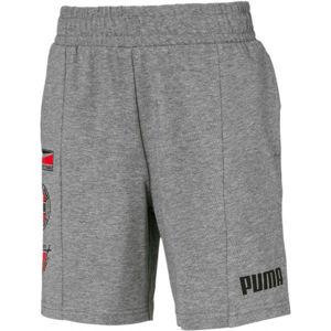 Puma ALPHA SUMMER SHORT šedá 152 - Pánske športové šortky