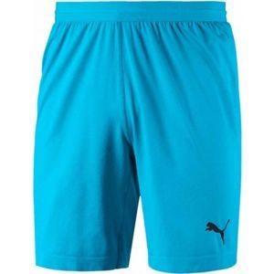 Puma FINAL evoKNIT GK Shorts modrá M - Pánske brankárske trenky