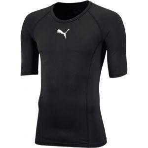 Puma LIGA BASELAYER TEE SS čierna M - Pánske funkčné tričko
