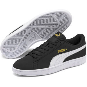 Puma SMASH V2 BUCK čierna 10 - Pánska voľnočasová obuv