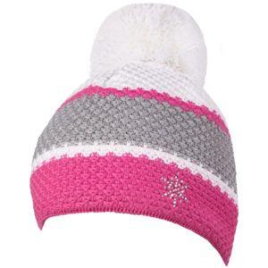 R-JET SPORT FASHION BASIC sivá UNI - Dámska pletená čiapka