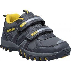 Reaper RENZO šedá 29 - Detská voľnočasová obuv