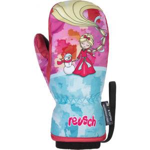 Reusch FRANCI R-TEX XT MITTEN ružová 5 - Detské zimné rukavice