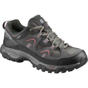 Salomon FORTALEZA GTX W šedá 6.5 - Dámska hikingová obuv