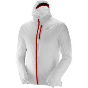 Salomon FAST WING HOODIE M biela XXL - Pánska bunda