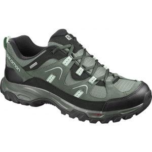 Salomon FORTALEZA GTX šedá 10 - Pánska outdoorová obuv