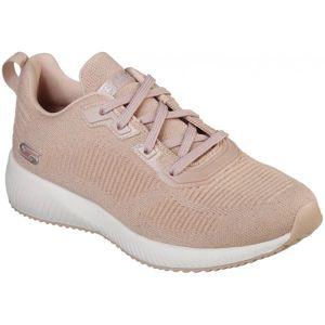 Skechers BOBS SQUAD TOTAL GLAM svetlo ružová 40 - Dámske nízke tenisky