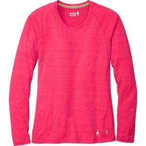 Smartwool MERINO 150 BASE PAT W ružová XL - Dámske tričko