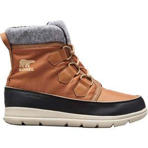 Sorel EXPLORER CARNIVAl hnedá 6.5 - Dámska zimná obuv
