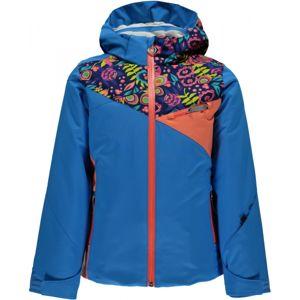 Spyder PROJECT G modrá 14 - Dievčenská lyžiarska bunda