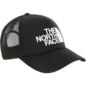 The North Face TNF LOGO TRUCKER čierna  - Šiltovka