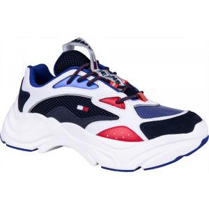 Tommy Hilfiger FASHION CHUNKY RUNNER biela 45 - Pánska voľnočasová obuv