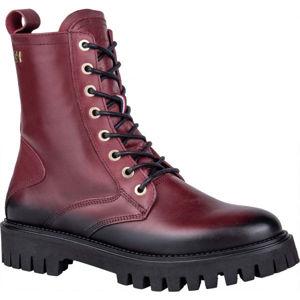Tommy Hilfiger SHADED LEATHER TH BOOTIE  39 - Dámska kožená obuv