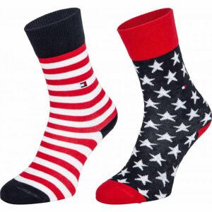 Tommy Hilfiger KIDS SOCK 2P STARS AND STRIPES  39/42 - Detské ponožky