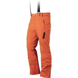 TRIMM RIDER oranžová M - Pánske lyžiarske nohavice
