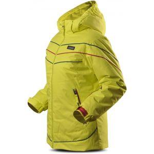 TRIMM RITA zelená 128 - Dievčenská lyžiarska bunda
