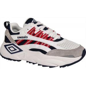 Umbro NEPTUNE LE biela 8 - Pánska voľnočasová obuv