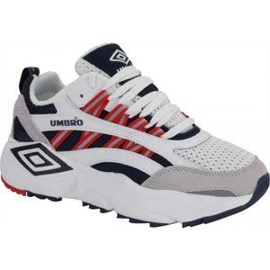 Umbro NEPTUNE biela 9 - Pánska voľnočasová obuv