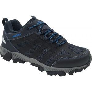 Umbro DOCKER modrá 45 - Pánska treková obuv