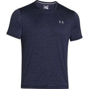 Under Armour TECH V-NECK tmavo modrá L - Pánske tričko