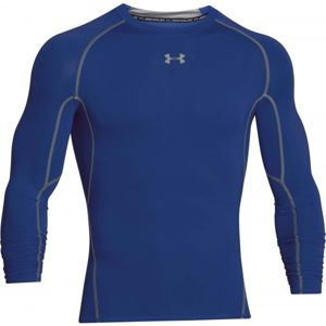 Under Armour HEAT ARM COMPR LONG modrá XL - Pánske tričko