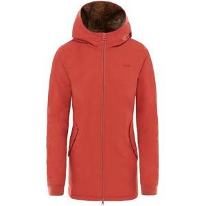 Vans WM INFERNO JACKET červená XS - Dámska zimná bunda