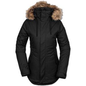 Volcom FAWN INS JACKET čierna M - Dámska lyžiarska/snowboardová bunda