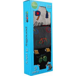 Voxx BOX 20 BLK  23-25 - Pánske ponožky