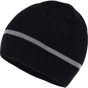 Willard JARS čierna UNI - Pánska pletená čiapka