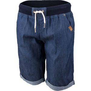 Willard KSENIA modrá 36 - Dámske šortky s džínsovým vzhľadom