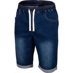 Willard WON modrá S - Pánske  šortky s džínsovým vzhľadom
