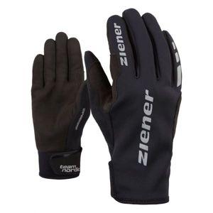Ziener URS GWS BLACK čierna 10 - Bežecké rukavice