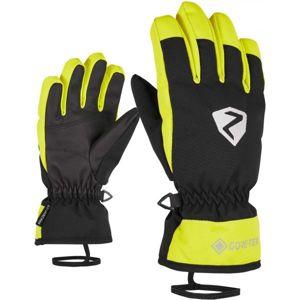 Ziener LARINO GTX JR zelená 5 - Detské rukavice